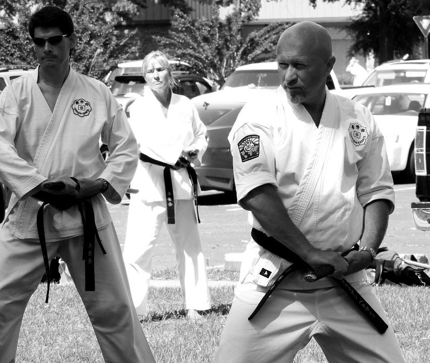Karate, Sword, Martial Arts, Training, Traditional
