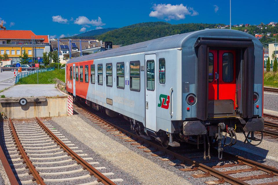 Trains, Railway Station, Railway, Rails, Rail Traffic