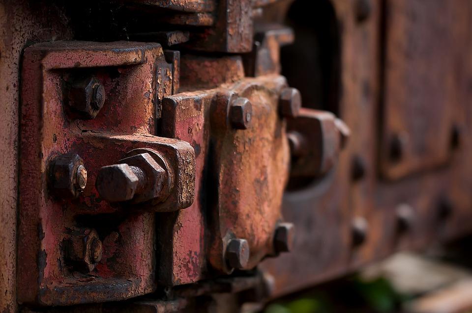 Rust, Wagon, Trains, Railway, Old, Rusted, Screw