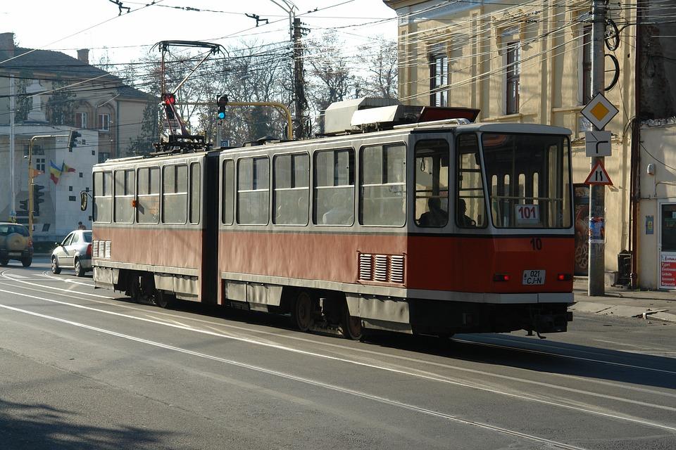 Tram, Transportation, Train, Traffic, Vehicle