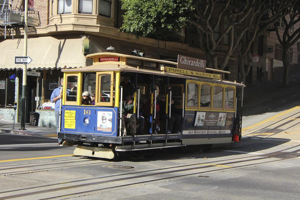 Tram, Tramway, Street, Cable Car, Transportation System