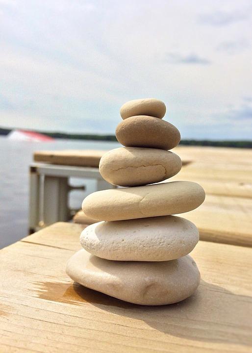 Stacked, Rocks, Balance, Zen, Stone, Tranquil