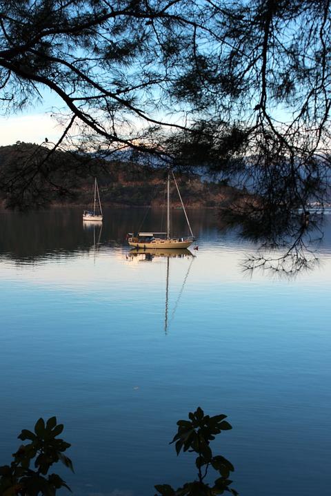 Turkish Coast, Tranquillity, Sea, Mediterranean, Calm