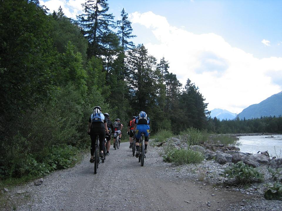 Cycling, Bike, Away, Transalp, Sport