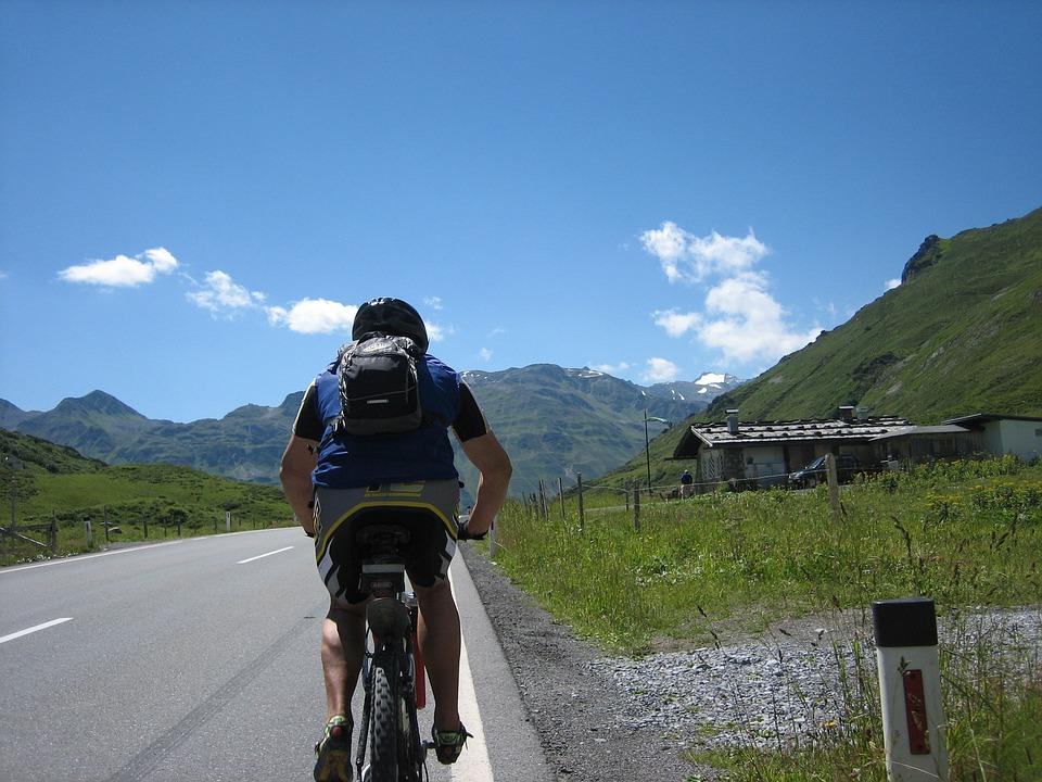 Cycling, Bike, Transalp, Sport