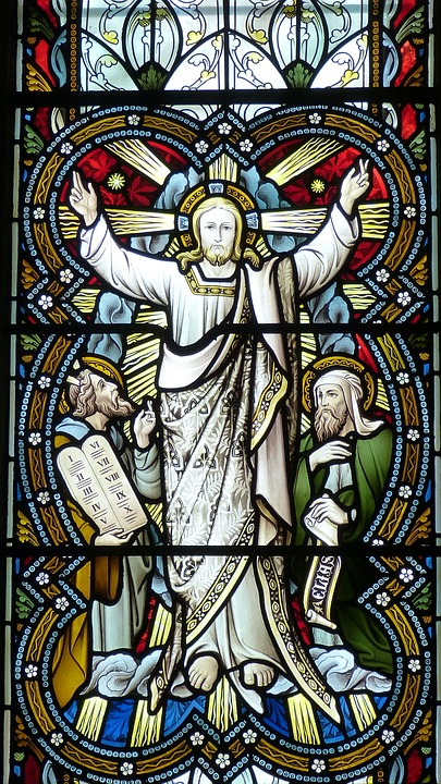 Church, Window, Church Window, Jesus, Transfiguration
