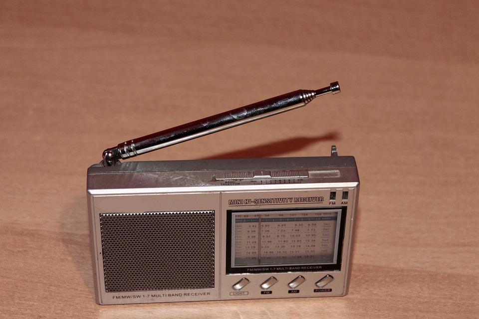 Radio, Retro, Silver, Transistor Radio