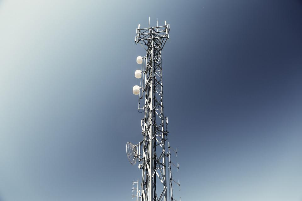 Antenna, Tower, Transmission, Communication