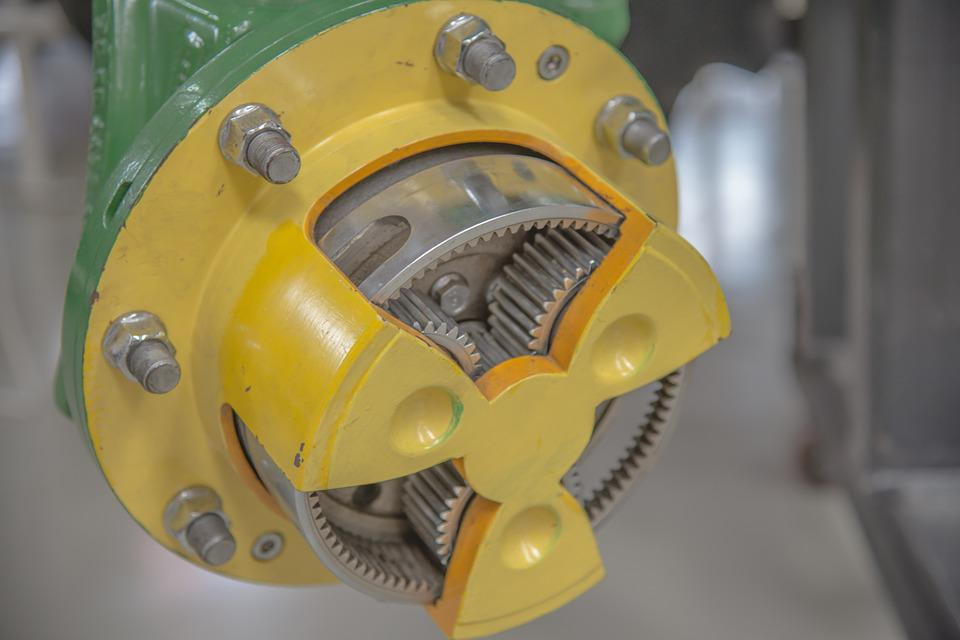Transmission, Drive, Gear, Metal, Stainless Steel