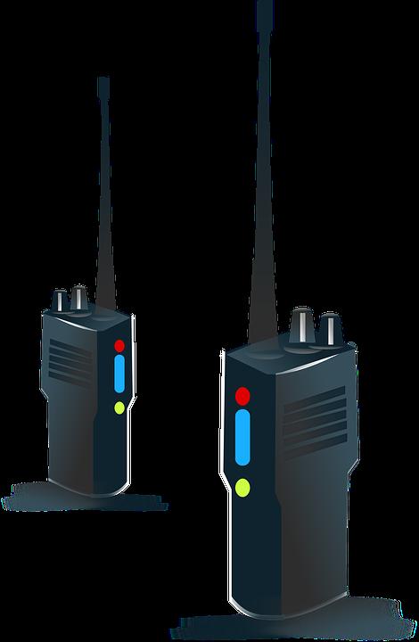 Handheld, Radio, Transmission, Portable, Equipment