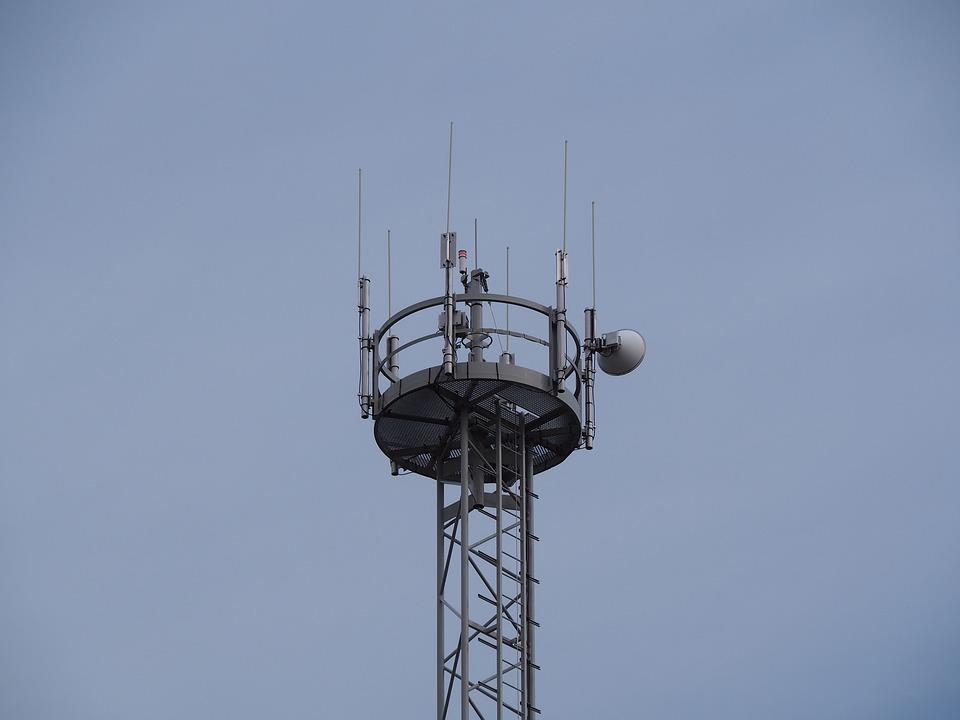 Transmission Tower, Radio Station, Mobile Phone Mast