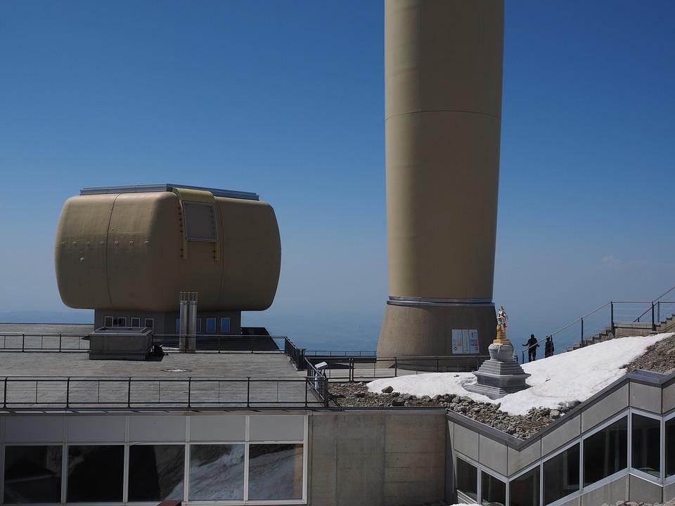 Send System, Transmission Tower, Säntis, Mountain