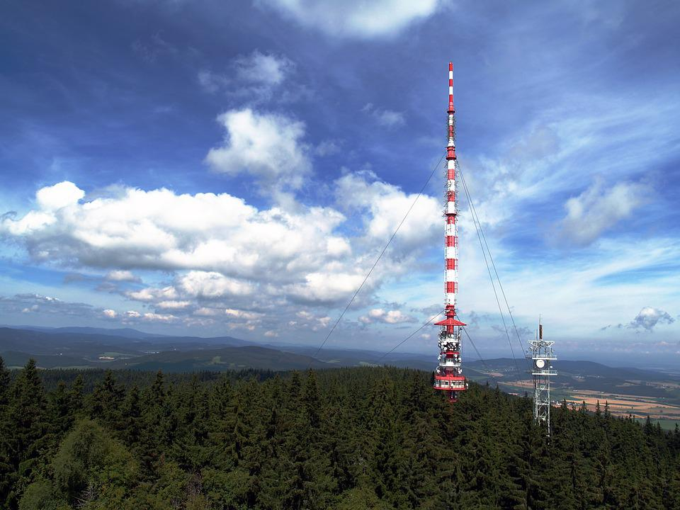 Transmitter, Tv, Travel, Modern, Kleť Hill