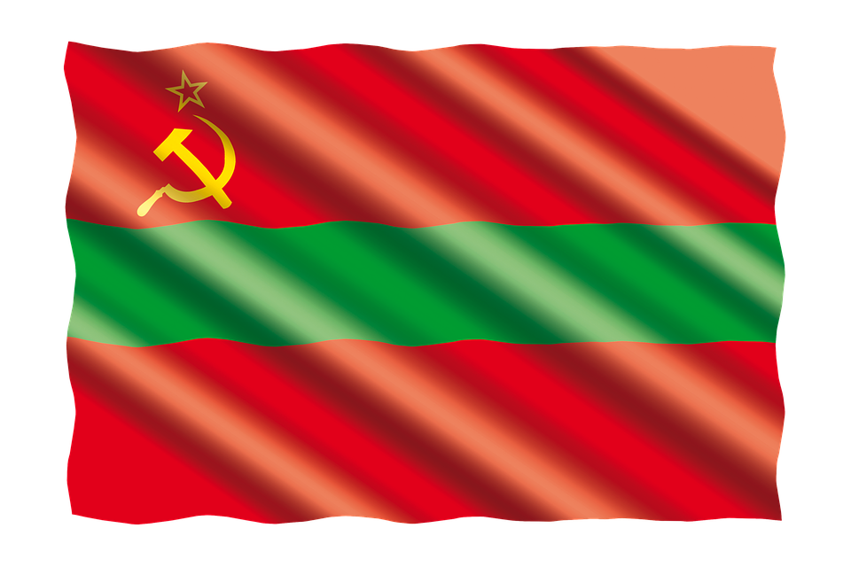 International, Flag, Transnistria
