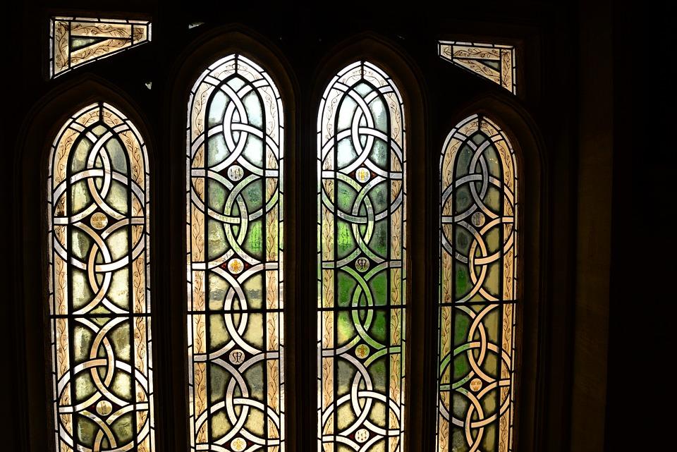 Stained Glass Window, Church, Transparency, Window