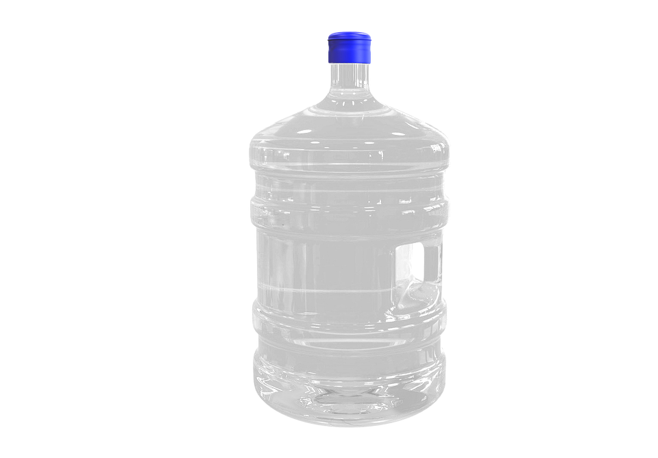 Bottle, Water Bottle, Canister, Isolated, Transparent