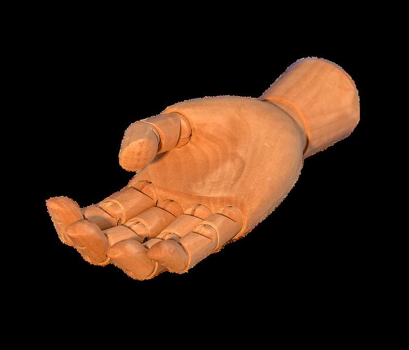 Transparent, Transparent Background, Wood, Hand, Finger