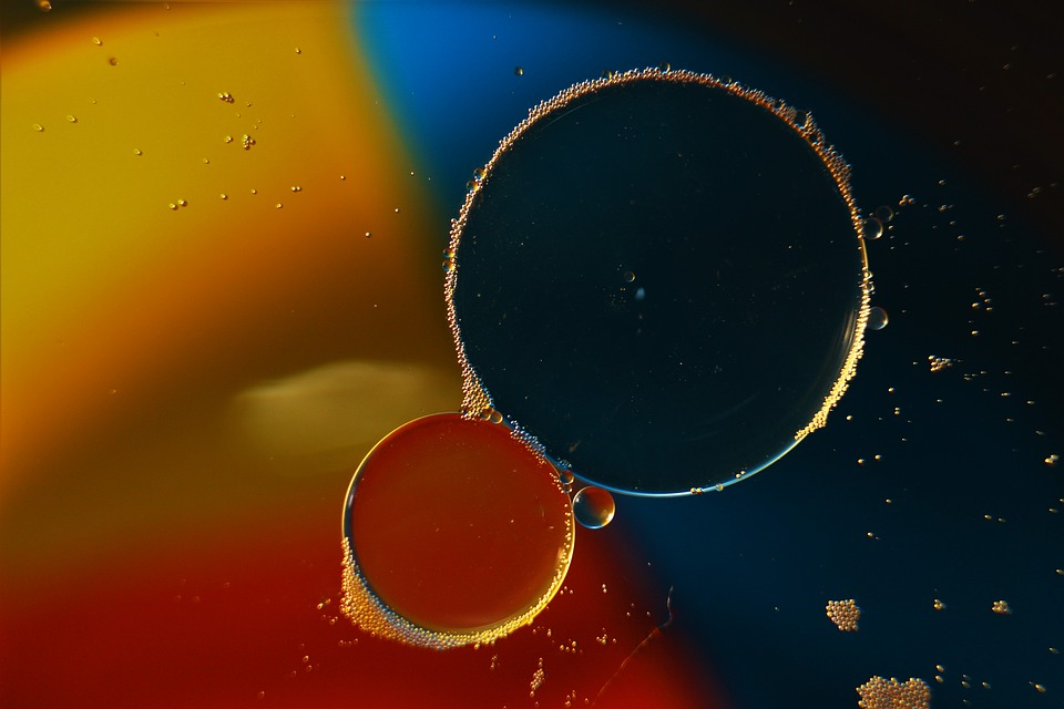 Bubble, Liquid, Drink, Transparent, Round, Water, White