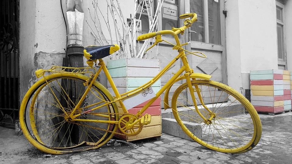 Vintage Bike, Bike, Old, Retro, Wall, Transport, Street