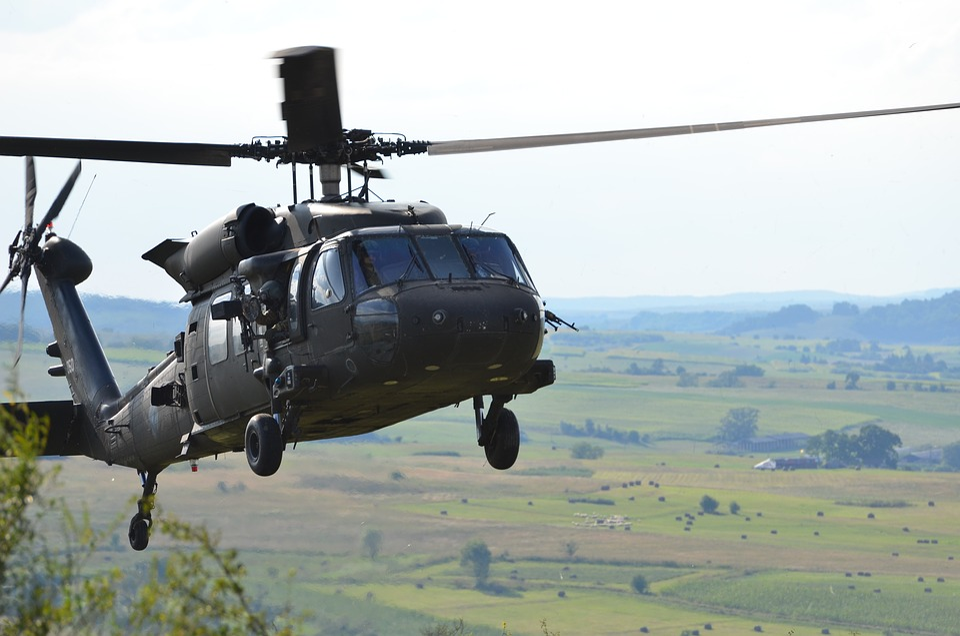 Uh-60 Blackhawk, Helicopter, Blackhawk, Transport