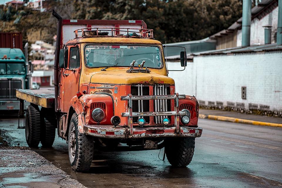 Car, Old, Farm, Classic, Transport
