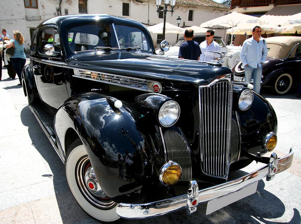 Spain, Car, Antique, Town, Transport, Europe