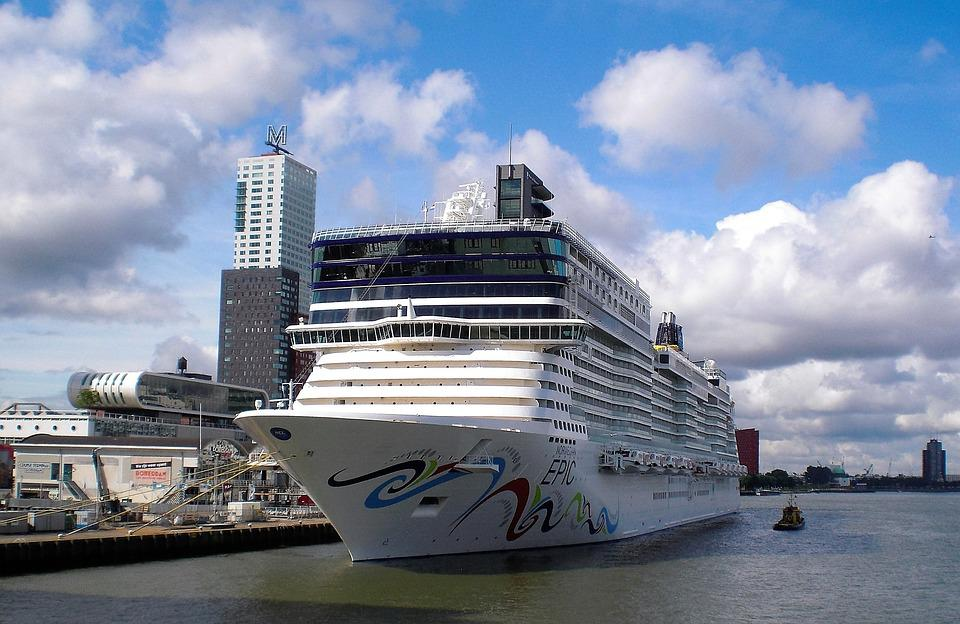 Transport, Cruise, Cruise Boat, Mooring, Rotterdam
