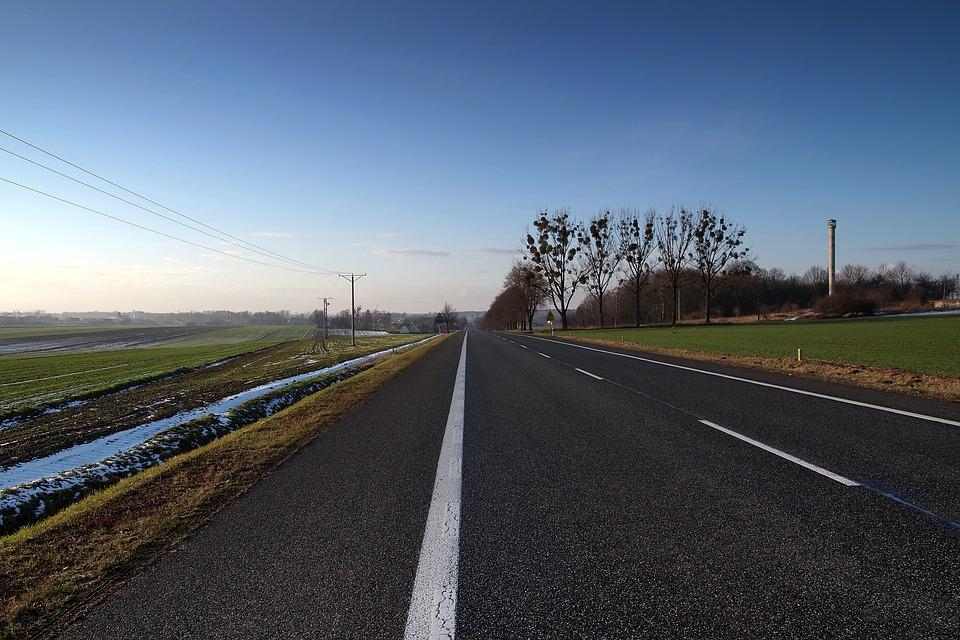 Asphalt, Way, Street Highway, Sky, Landscape, Transport