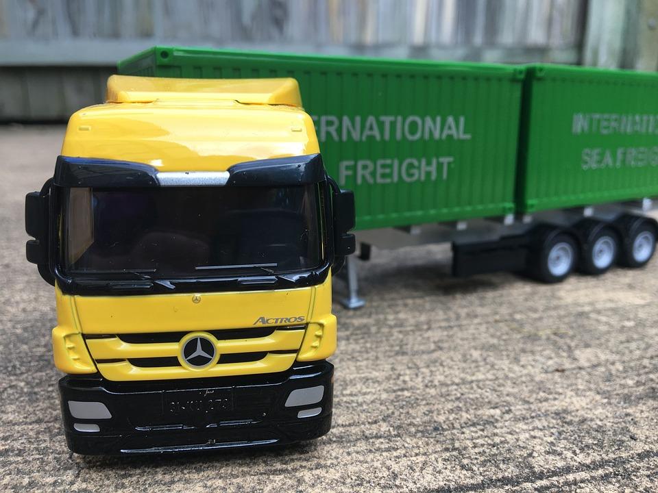 Truck, Toy, Play, Vehicle, Transport, Transportation