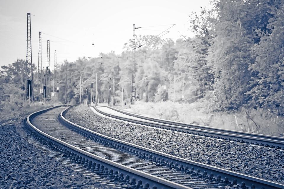 Rails, Train, Railway, Transport, Track, Locomotive