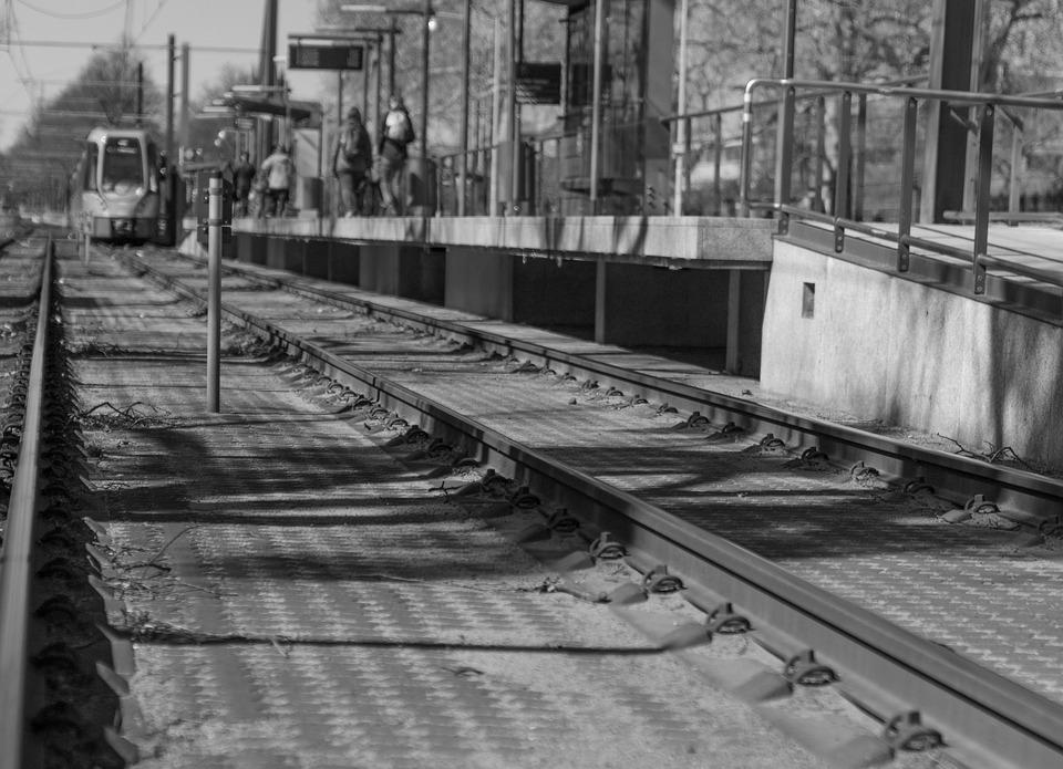 S Bahn, Rails, Platform, Train, Transport, Track