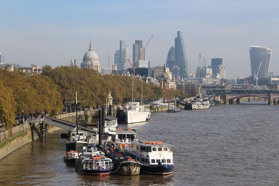 Thames, Transport, River, Water, London, England