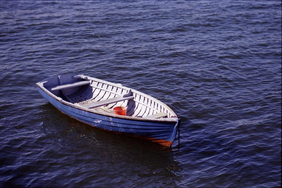 Boat, Water, Empty, Sea, Ocean, Transport, Travel