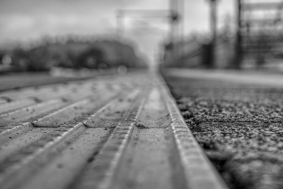 Platform, Blurry, Out Of Focus, Blur, Transport System