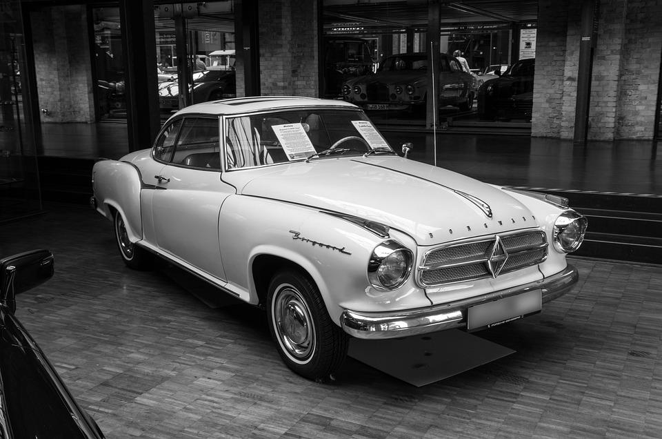 Auto, Borgward, Vehicle, Coupe, Transport System