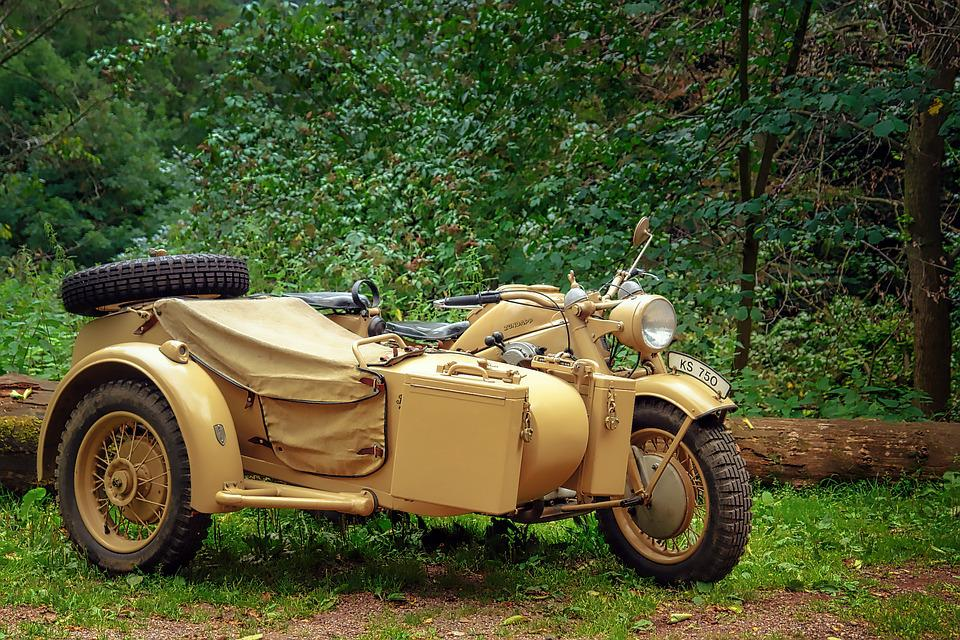 Vehicle, Auto, Transport System, Motorcycle, Oldtimer