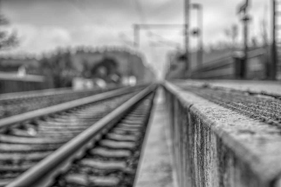 Blurry, Out Of Focus, Blur, Transport System, Railway