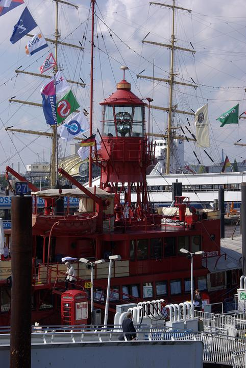 Ship, Transport System, Port