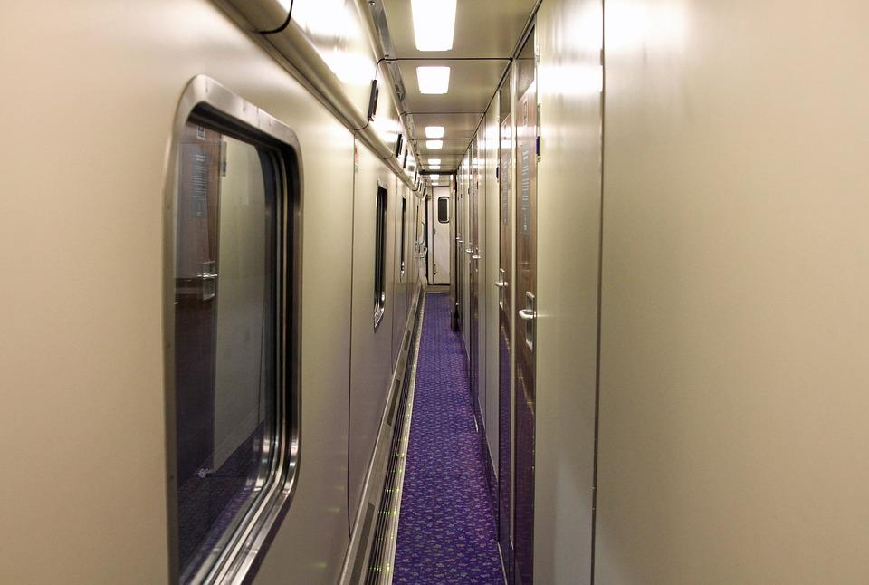 Sleeper, Train, Transport, Travel, Journey, Aisle