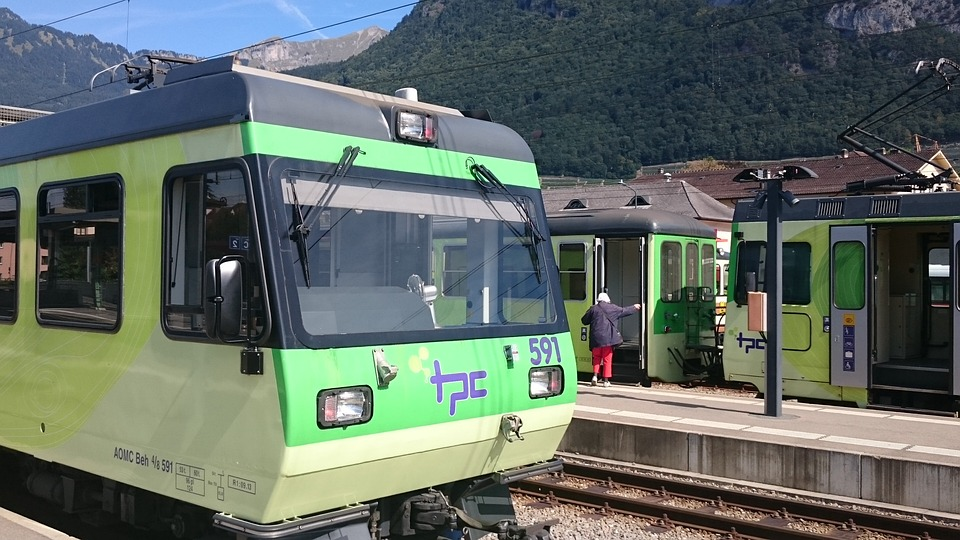 Train, Tram, Rail, Transport, City, Travel, Station