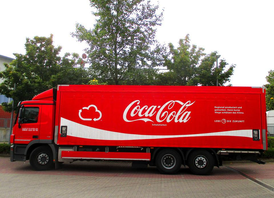 Coca Cola, Transport, Germany, Red, Lemonade, Truck