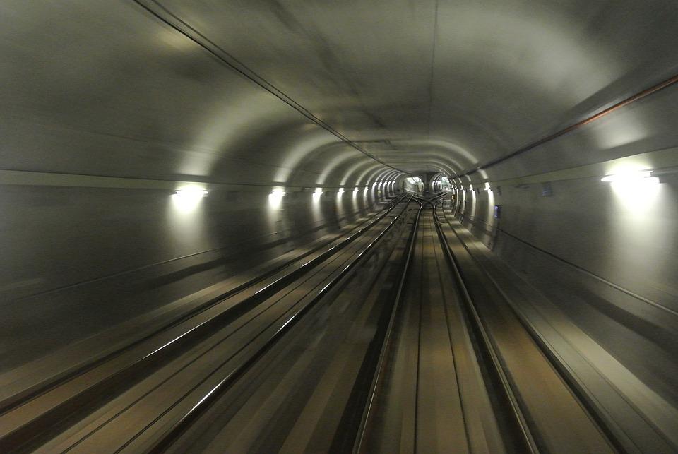 Railway, Ubahn, Transit, Subway, Transport, Tunnel