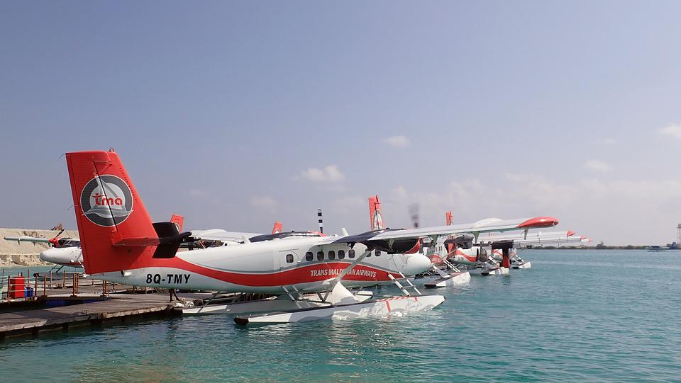 Seaplane, Water, Transport, Airplane, Plane, Sea