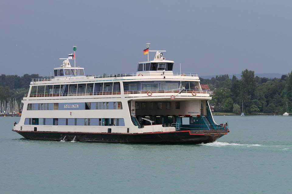 Car Ferry, Ferry, Transport, Ship, Waters