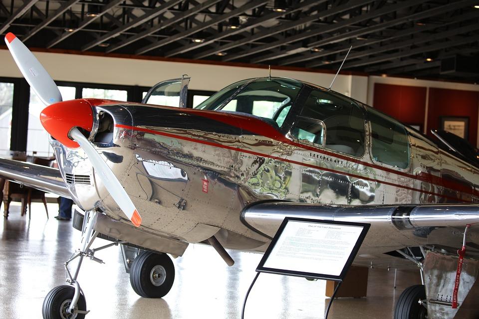 Bonanza, Beechcraft, Vintage, Transportation, Engine