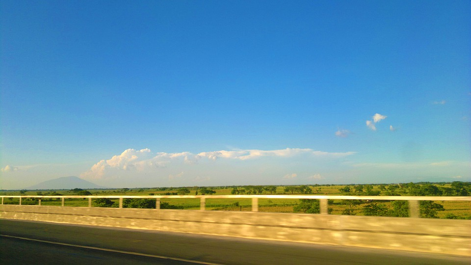 Roads, Express Way, Blue Sky, Way, Transportation