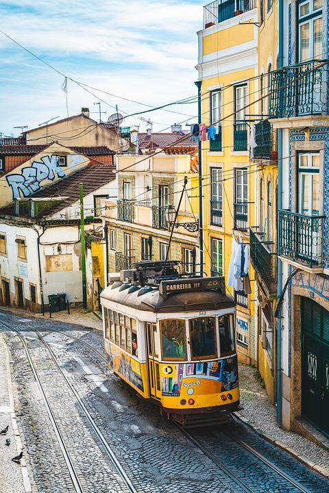 Tram, Train, Transportation, Tramway, Travel, City