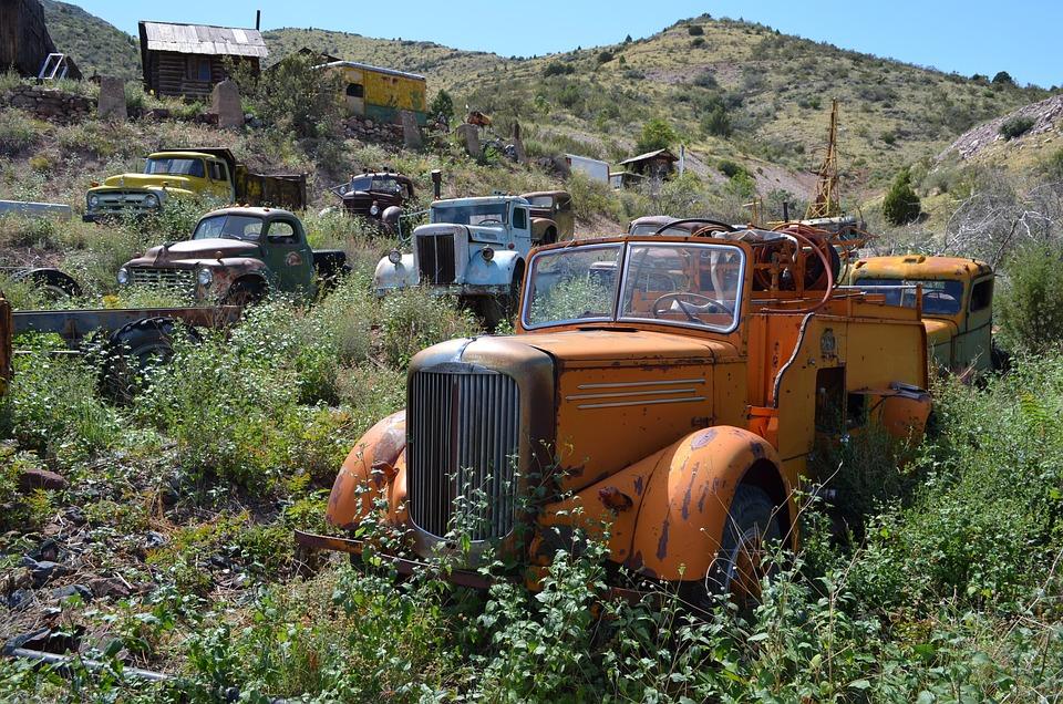 Jerome, Arizona, Town, Old, Ghost, Transportation