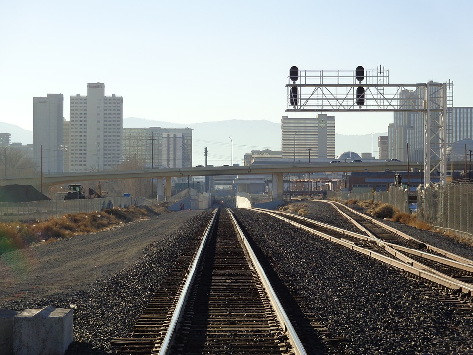 Railroad, Tracks, Transportation, Rail, Railway