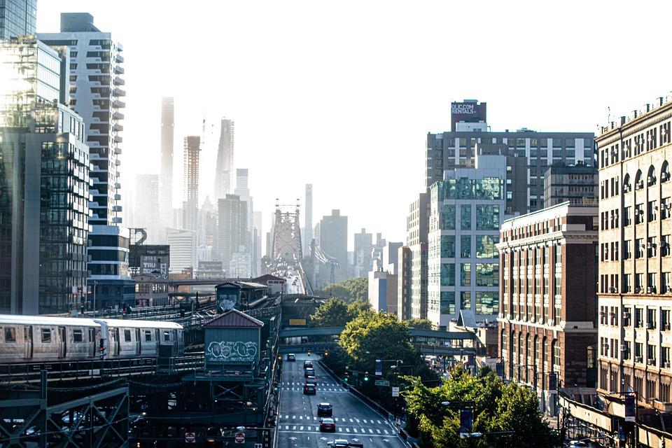 City, Road, Transportation, Traffic, Metro, Train